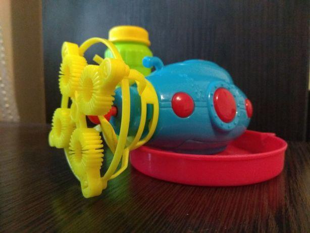"""Игрушка мыльные пузыри """"Подводная лодка"""" на батарейках"""