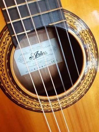 Gitara klasyczna Aria japońska z lat 70-tych.