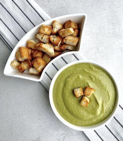 Domowe zupy - zupa - krem z warzyw - pasztet domowy