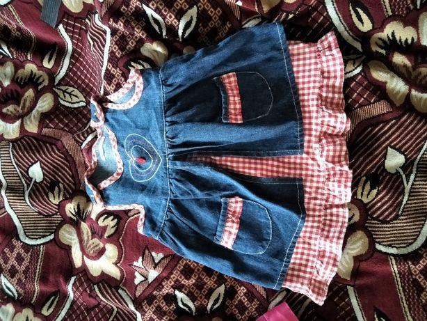 Платтячко дитячі на весну-літо 2-3 роки