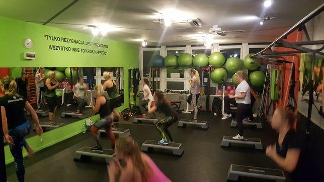Sala fitness, cross, treningi personalne, ze sprzętem