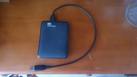 Disco Externo WD Elements 1.5TB (1500GB) USB