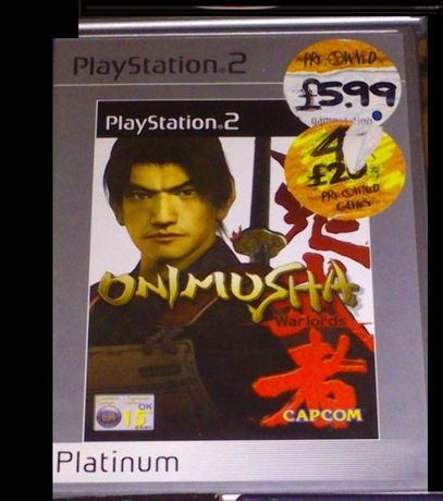 Gra na PS2 - Onimusha