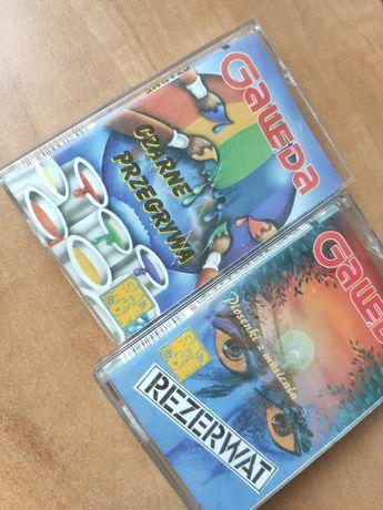 Dwie kasety magnetofonowe Gawęda