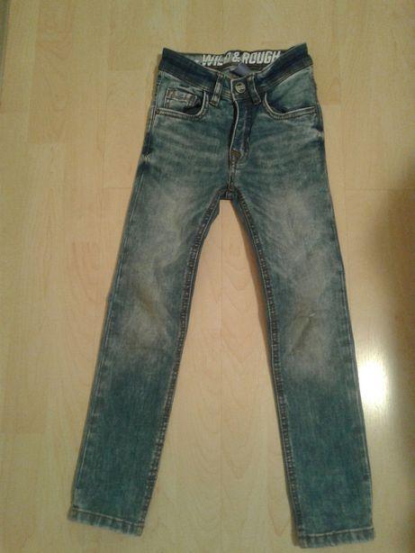 jeansy chlopiece jak nowe