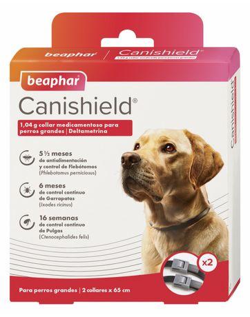 Pack 2 coleiras antiparasitária Canishield
