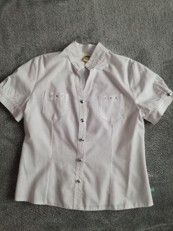 Biała bluzeczka r.152