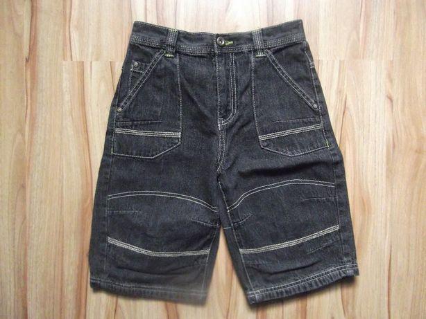 spodenki do kolan - jeans