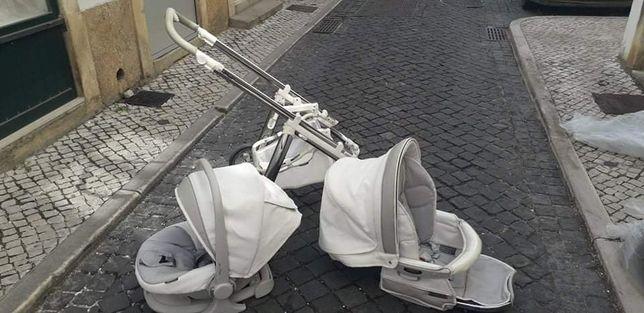 Ovo + cadeira + chassi Bebecar