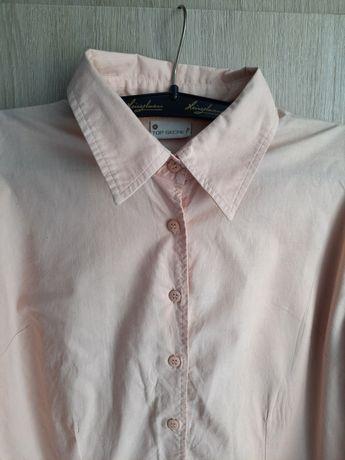 Koszula pudrowy róż Top secret S 36