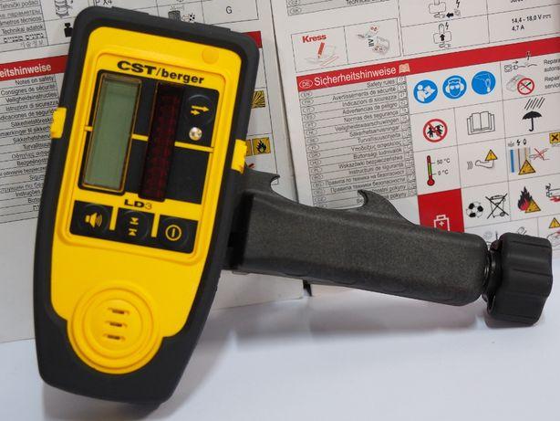 Detektor do niwelator CST BERGER LD 3 laser liniowy krzyzowy