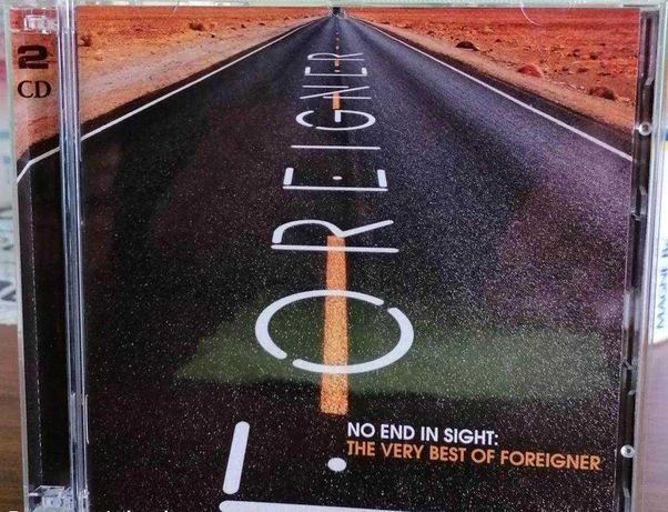 2CD FOREIGNER-No End In Sight - The Very Best. Hard Rock USA. Rarytas.