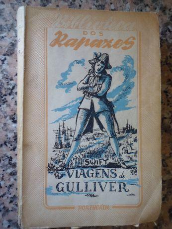Biblioteca dos Rapazes Portugália Editora Viagens de Gulliver em bom