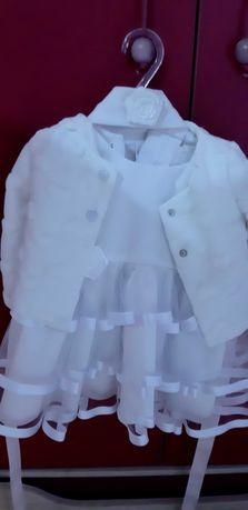 Ubranko do chrztu-dziewczynka