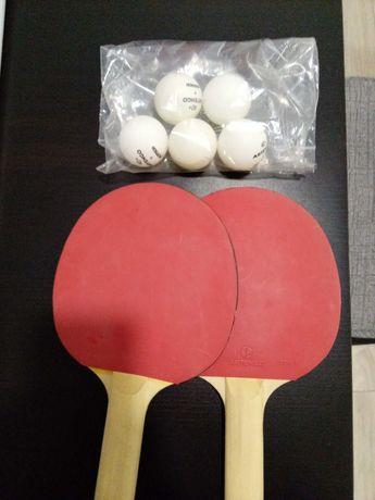 Raquetes Ping Pong Artengo  5 bolas