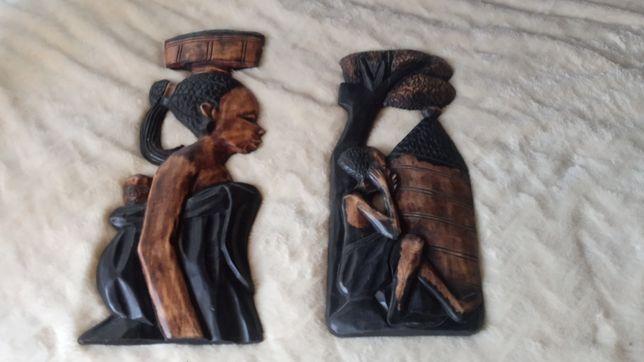 Esculturas artesanais africanas