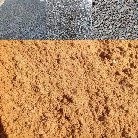 Продам щебень, песок речной, отсев