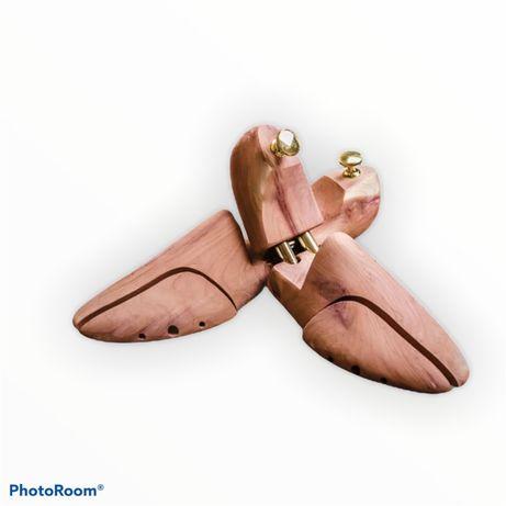Формодержатель для обуви дерево кедр, колодка для зберігання взуття