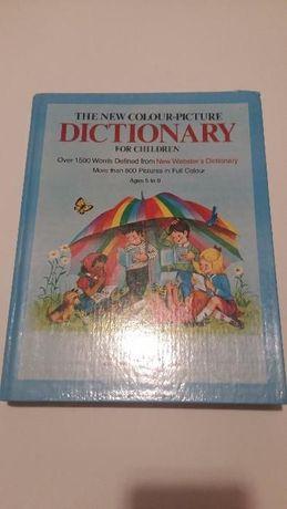 Słownik obrazkowy dla dzieci - The new colour