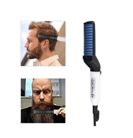 Утюжок - выпрямитель , стайлер для бороды и волос Modelling Comb For B