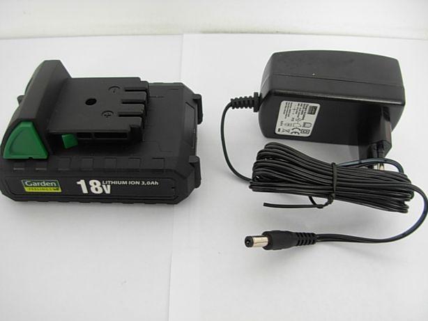 Akumulator 18v 3,0Ah ładowarka Gardenline BP1830G