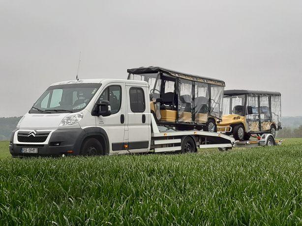 Pomoc Drogowa Holowanie transport maszyn rolniczych Roadster