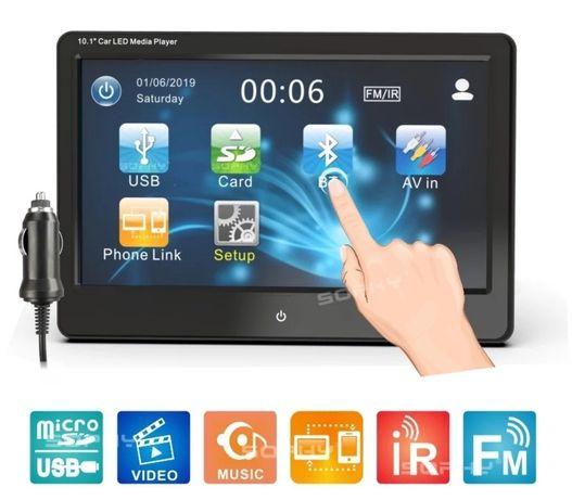 """Enconto cabeça multimédia - 10.1"""" - Bluetooth - Touchscreen"""