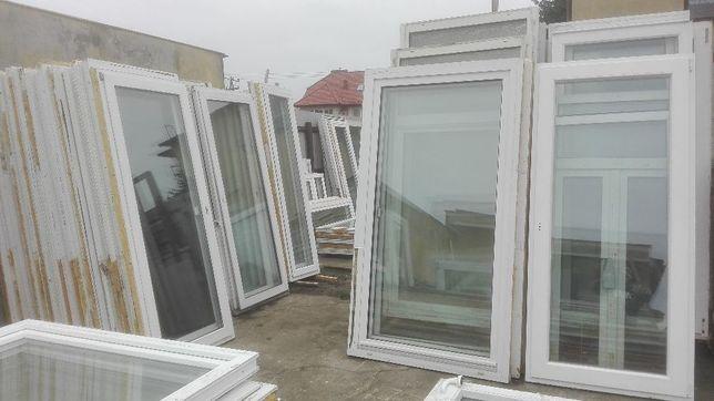 DRZWI Balkonowe PCV 76 x 221 Okno Używane Tarasowe WYSYŁKA POLSKA