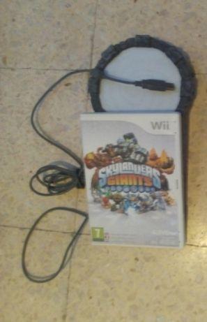 Jogo Skylanders mais portal com cabos Wii em ÓPTIMO ESTADO