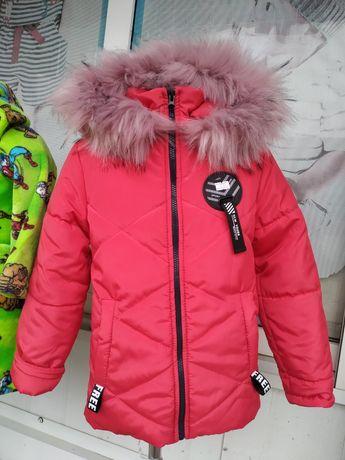 Зимова куртка на дівчинку