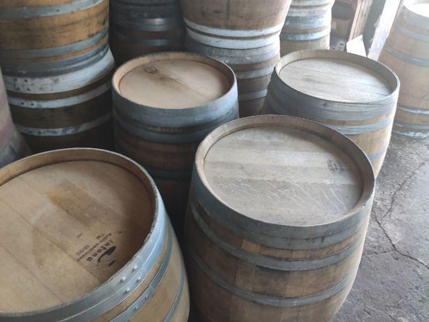 Beczka drewniana po whisky po winie dębowa szczelna Barrique 225 litr.