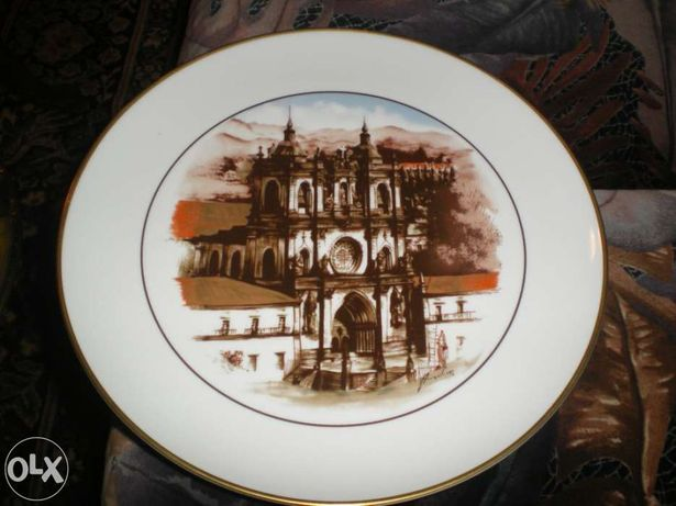 Prato da SPAL c/ Mosteiro Alcobaça