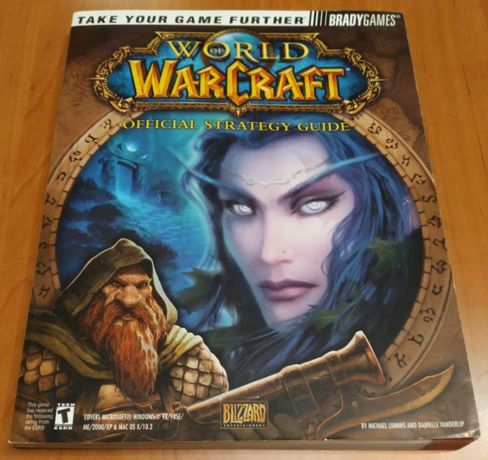 World of Warcraft Vanilla / Classic - BradyGames Guide 2004 - Poradnik
