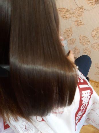 Кератин,  ботокс, реконструкция волос. Днепр. Центр. 7 минут от ЦУМА
