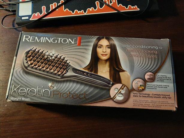 REMINGTON CB7480 Keratin. Szczotka prostująca włosy.
