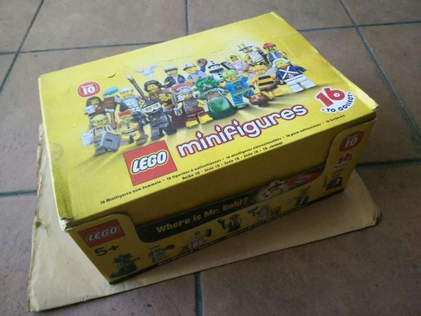 Caixa lego minifiguras série 10