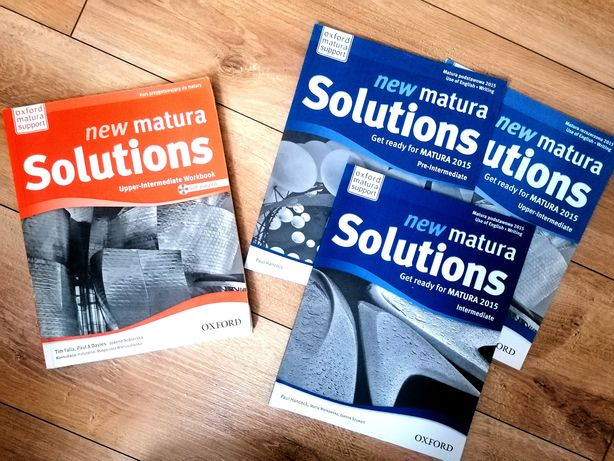 New Matura Solution ćwiczenia workbook intermediate upper