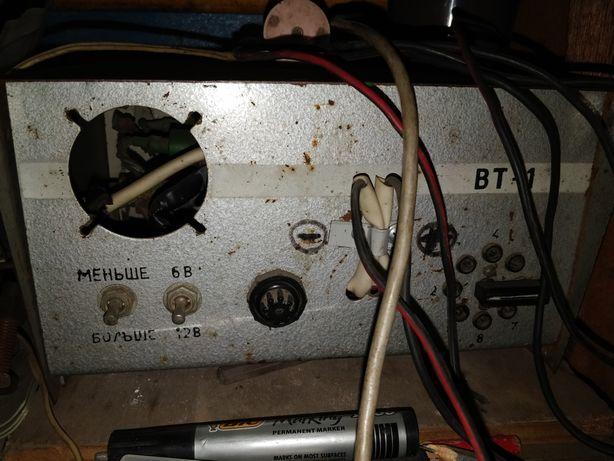 Зарядное для АКБ ВТ-1 СССР рабочее состояние