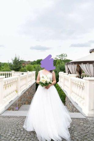 Продам свадебное платье  , состояние  нового!
