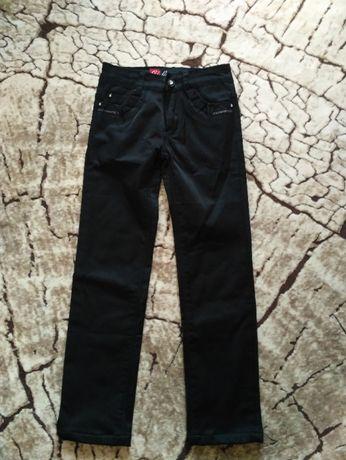 Штаны брюки в школу для девочки утепленные р.21