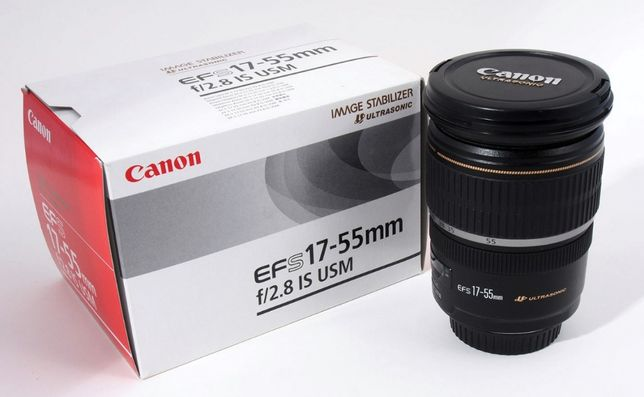 Объектив Canon EF-S 17-55mm f/2.8 IS USM. Новый!