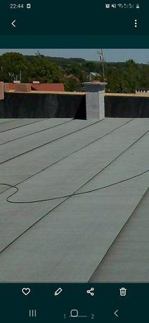 Pokrycia dachów papą termozgrzewalną