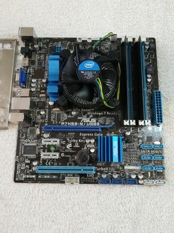 Комплект INTEL на (i5- 660)+ASUS P7H55-M/USB3+4Gb (1156 )