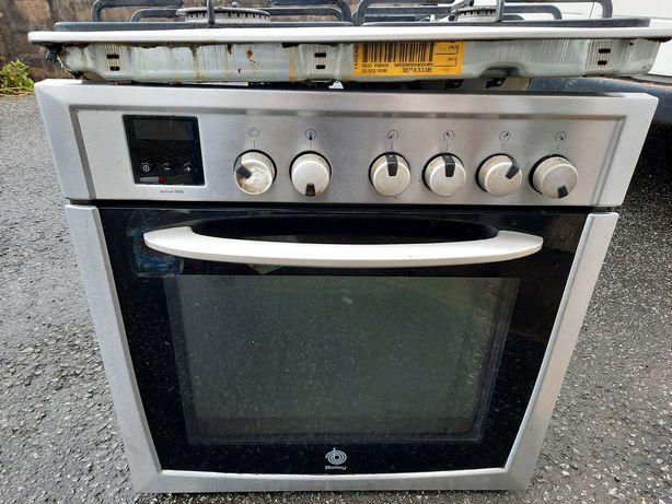 Conjunto Misto (gás e elétrico) de placa e forno com entrega