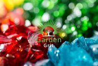 Szklane grysy dekoracyjne do ogrodu - w odcieniu turkusowym 7-20 mm