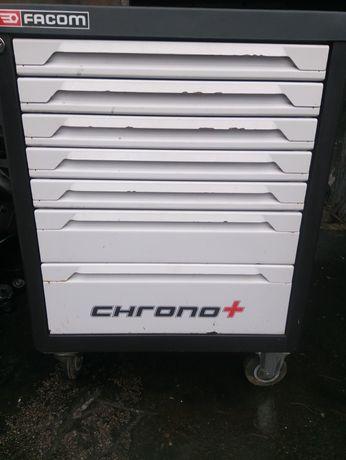 Wózek szafka narzędziowy facom chrono+ 7 szuflad