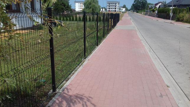 panel ogrodzeniowy, przęsło (czarne)