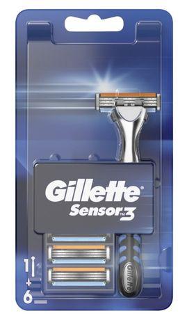 Кассеты для бритья Gillette Sensor 3
