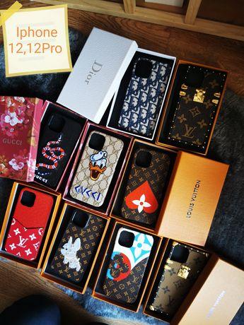 Pokrowce etuj case na 12 12 pro 12 max pro iphone Gucci LV