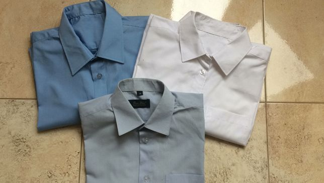 Рубашка школьная короткий рукав